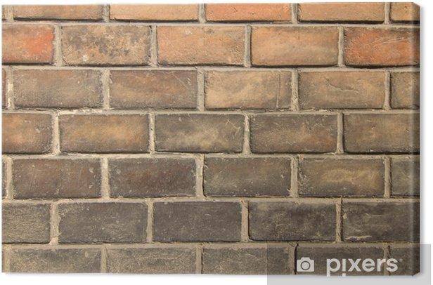 Obraz na płótnie Stary ceglany mur w tle - Tematy