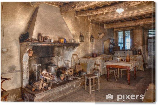 Obraz na płótnie Stary dom razy - Przeznaczenia