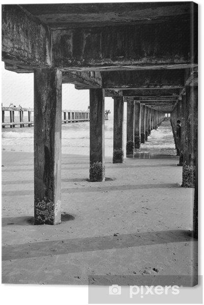 Obraz na płótnie Stary most - Smutek