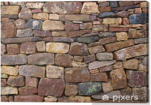 Obraz na płótnie Stary mur ceglany - Przemysł ciężki