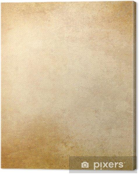 Obraz na płótnie Stary pergamin tekstury papieru - Tła