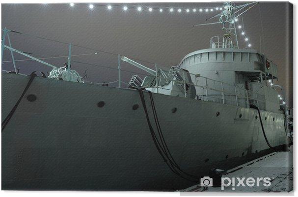 Obraz na płótnie Stary statek bitwa - Transport wodny