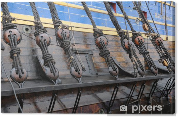 Obraz na płótnie Stary trzy maty w Göteborgu - Wakacje