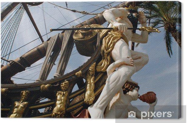 Obraz na płótnie Statek Neptuna - Transport wodny