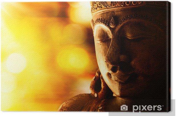 Obraz na płótnie Statua Buddy z brązu - Style