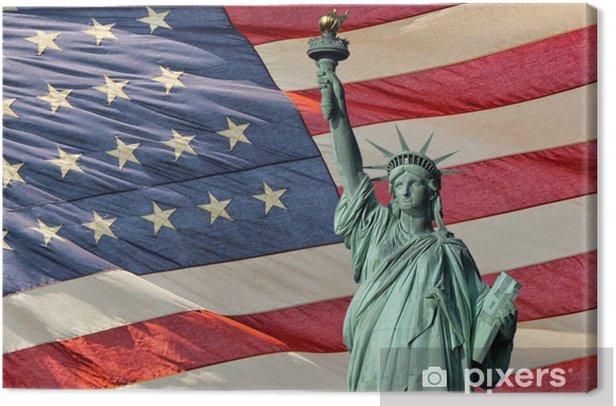 Obraz na płótnie Statua Wolności - Nowy Jork - Manhattan - Zabytki