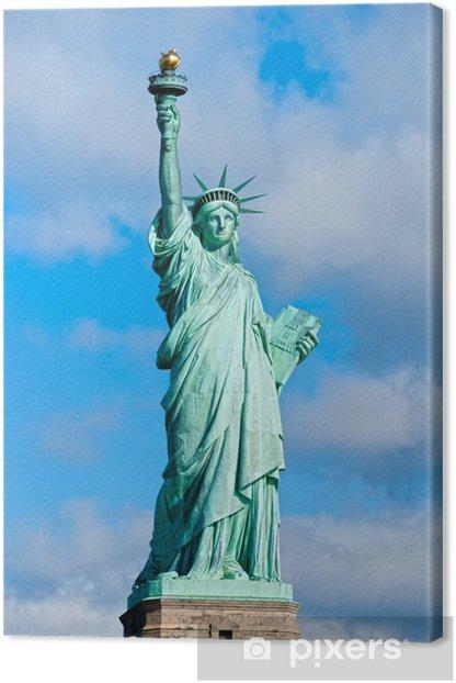 Obraz na płótnie Statua Wolności. Nowy Jork, USA. - Miasta amerykańskie