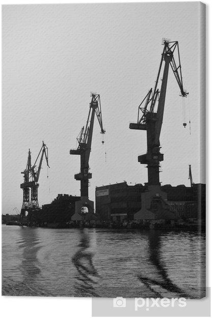 Obraz na płótnie Stocznia Gdańska 6 - Tematy