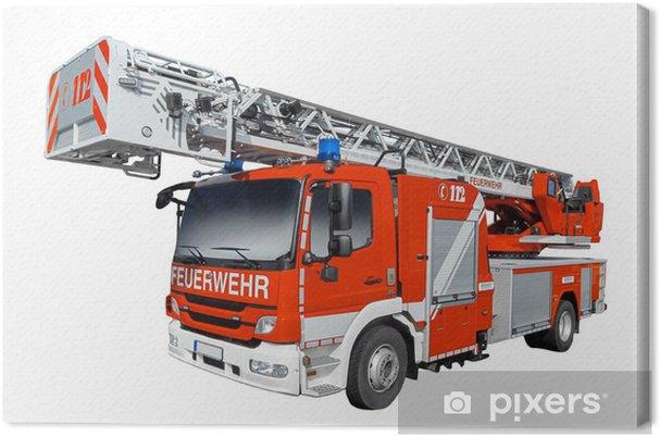 Obraz na płótnie Straż Pożarna - Transport drogowy