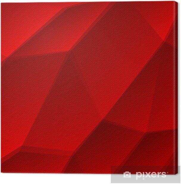 Obraz na płótnie Streszczenie czerwonym tle - Abstrakcja