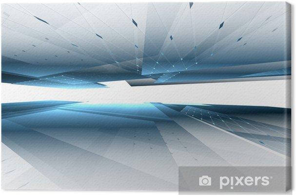 Obraz na płótnie Streszczenie futurystycznym tle - Style