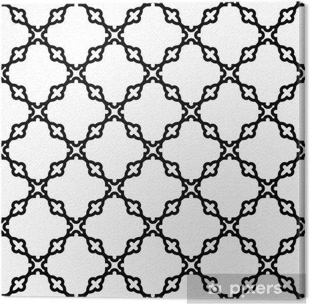 Obraz na płótnie Streszczenie geometryczny wzór bez szwu - Tła