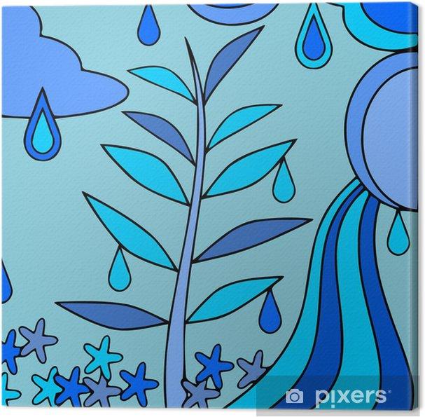 Obraz na płótnie Streszczenie niebieskim - Inne uczucia