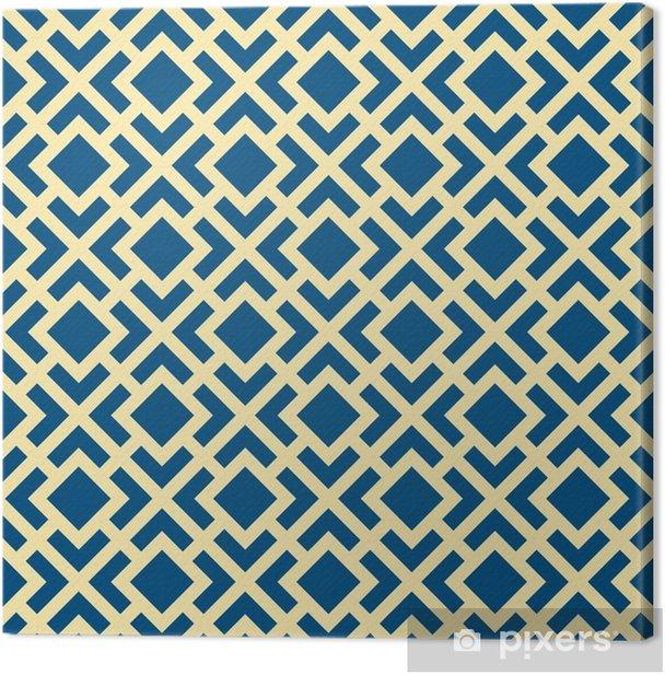 Obraz na płótnie Streszczenie szwu geometryczne Art Deco Krata wektor wzór - Zasoby graficzne