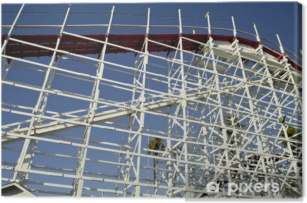 Obraz na płótnie Struktura Roller Coaster - Zabytki