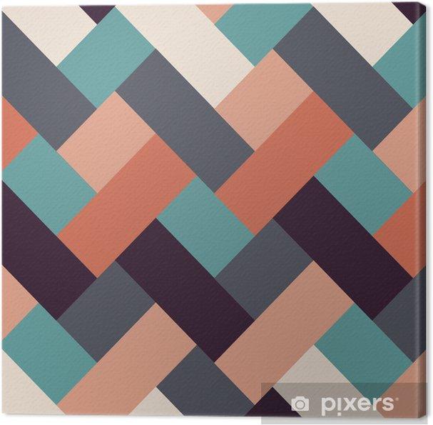 Obraz na płótnie Styl retro abstrakcyjne tło paski - Tła