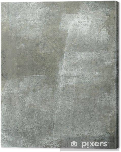Obraz na płótnie Subtelnym szary i biały Malarstwo abstrakcyjne - Sztuka i twórczość