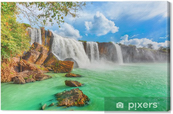 Obraz na płótnie Suche nur wodospad - Tematy