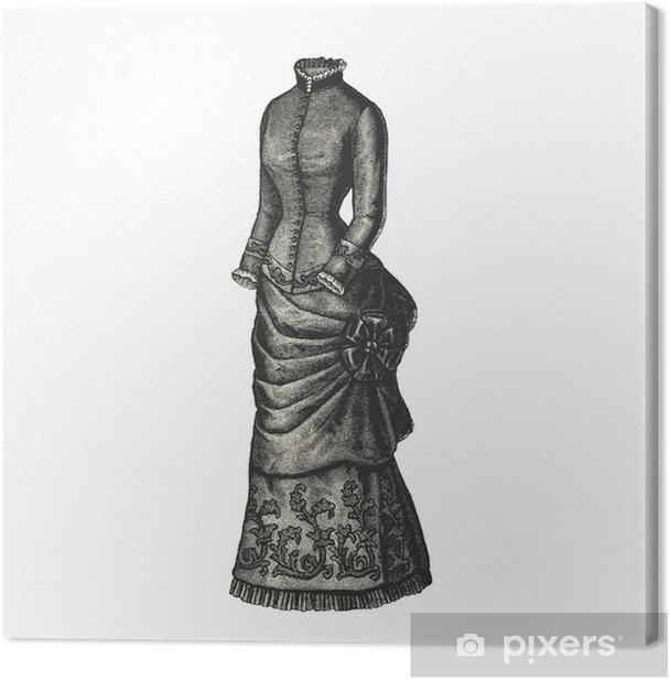 Obraz na płótnie Sukienka - Moda