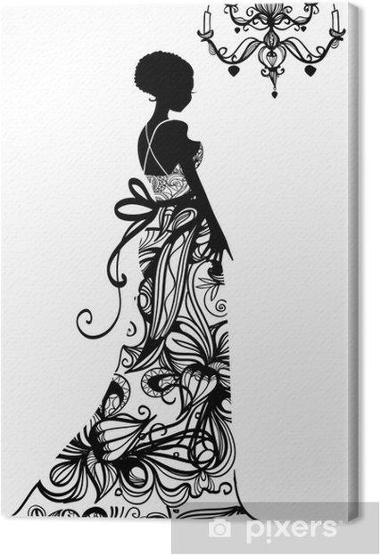 Obraz na płótnie Suknia ślubna - Moda
