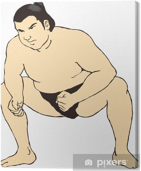 Obraz na płótnie Sumo - Sporty indywidualne