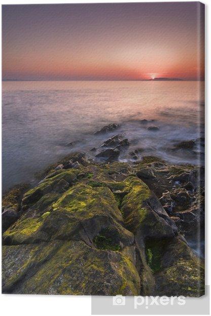 Obraz na płótnie Sunrise w Irlandii - Woda