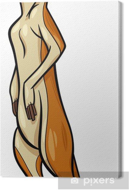 Obraz na płótnie Surykatka ilustracja kreskówka - Fikcyjne zwierzęta