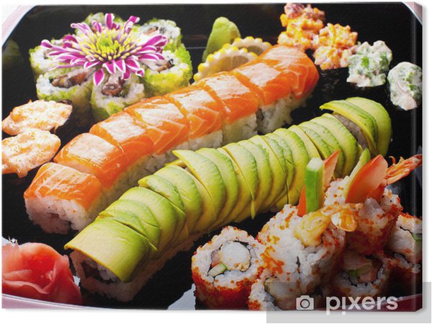 Obraz na płótnie Sushi rolkach - Sushi