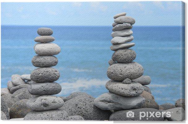 Obraz na płótnie Świat z równowagi - Wakacje