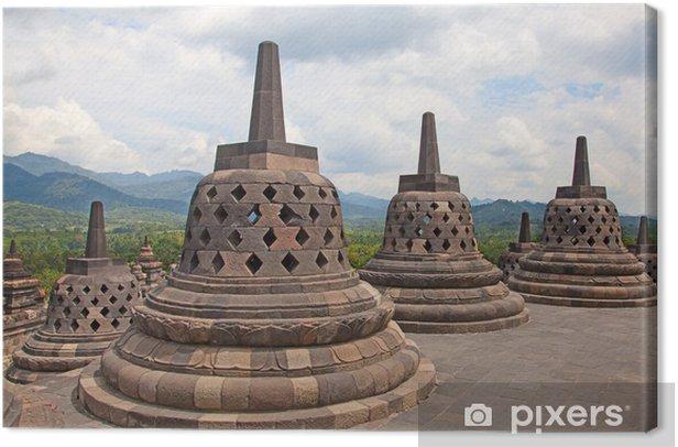 Obraz na płótnie Świątynia Borobudur w Indonezji - Azja