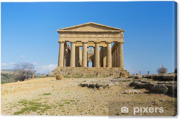 Obraz na płótnie Świątynia Zgody - Europa