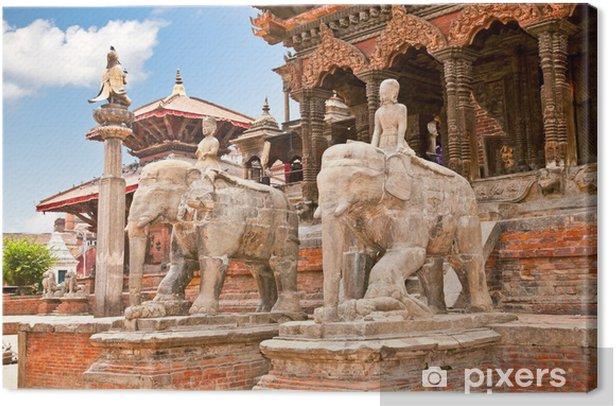 Obraz na płótnie Świątynie na Durbar Sqaure w Patan, Nepal - Azja
