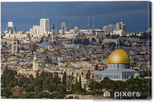 Obraz Na Plotnie Swiete Miasto Jeruzalem Z Izraela Pixers