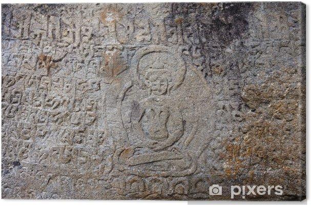 Obraz na płótnie Święte mury mani w dolinie khumbu w Nepalu - Ezoteryka
