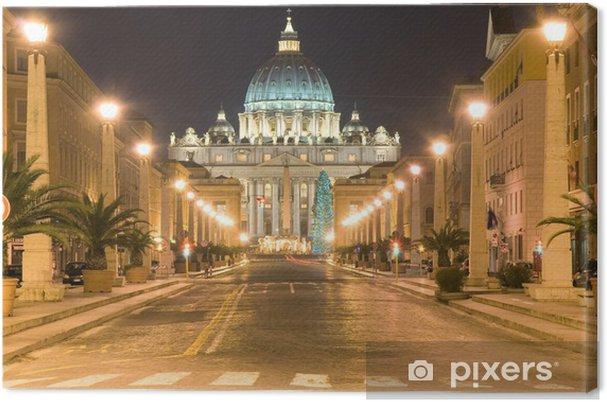 Obraz na płótnie Świętego Piotra, Watykan, Rzym - Tematy