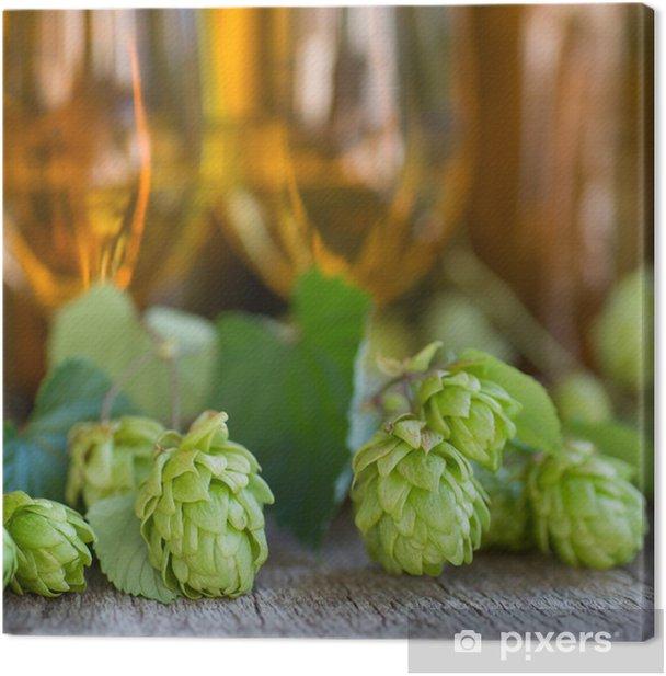 Obraz na płótnie Świeże chmielu - Alkohol