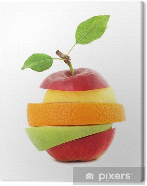 Obraz na płótnie Świeże owoce mieszane - Owoce