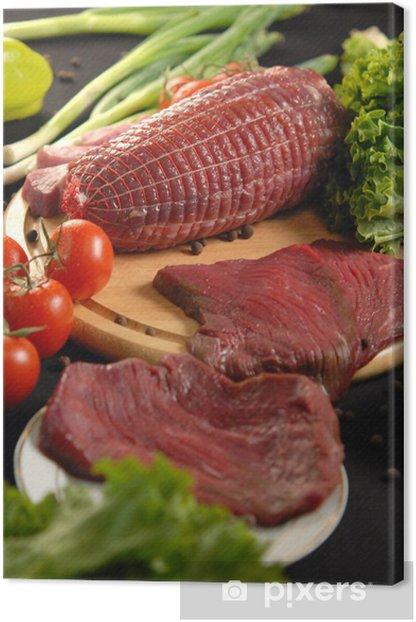 Obraz na płótnie Świeżego mięsa, Rzeźnie - Mięso