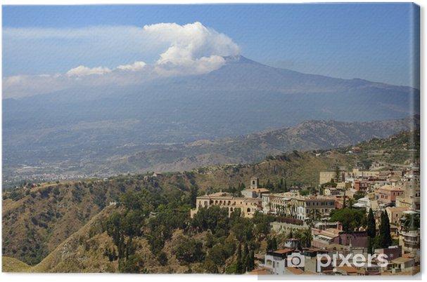Obraz na płótnie Sycylia, Włochy, z Etny - Góry