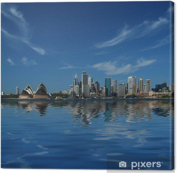 Obraz na płótnie Sydney City refleksje - Tematy