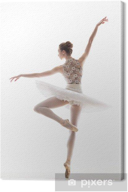 Obraz na płótnie Sylwetka baleriny - Kobiety