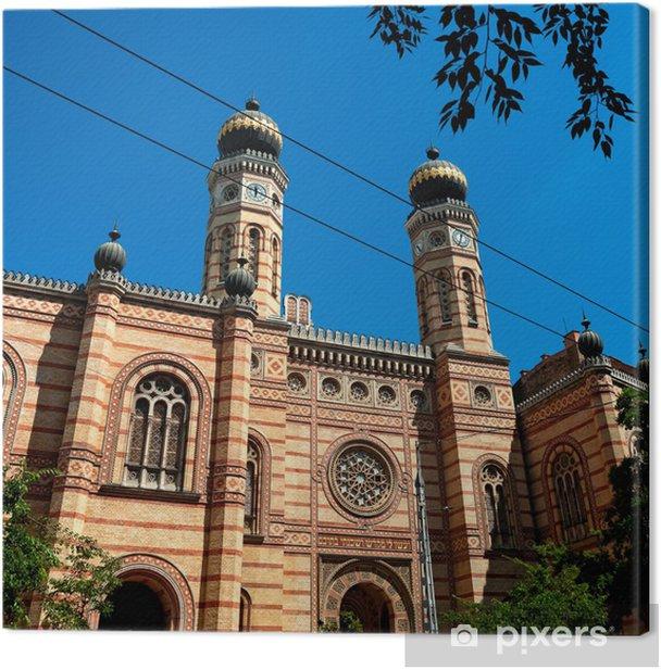 Obraz na płótnie Synagoga w Budapeszcie - Europa