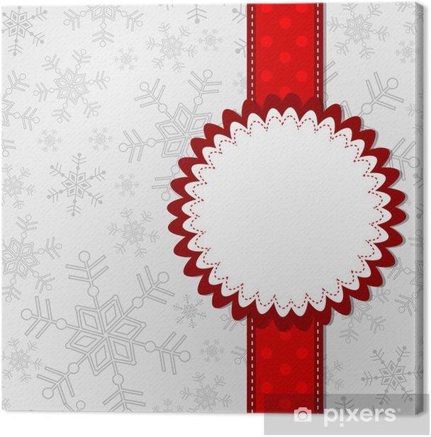 Obraz na płótnie Szablon karty z pozdrowieniami, wektor - Święta międzynarodowe