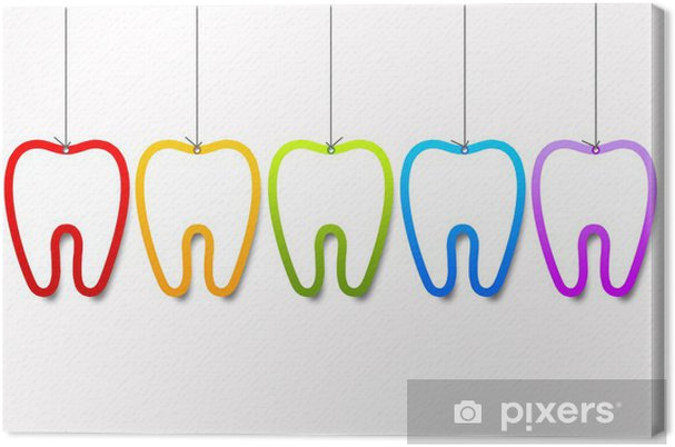 Obraz na płótnie Szablony dentystyczne - Zdrowie i medycyna