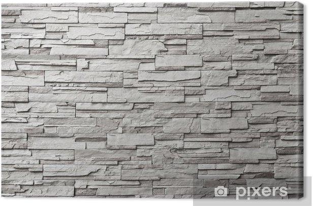 Obraz na płótnie Szary mur nowoczesne - Style
