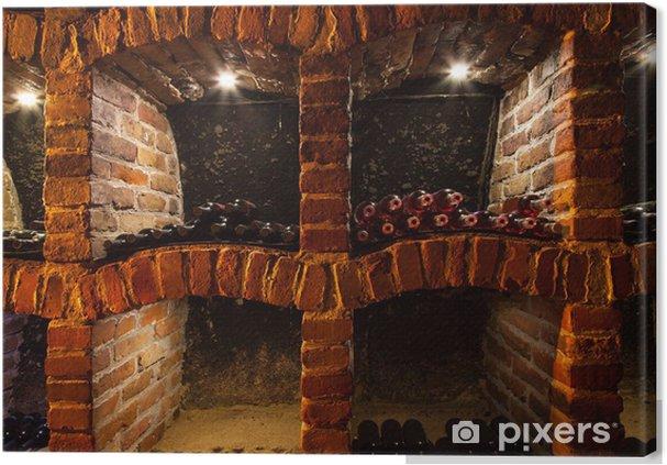 Obraz na płótnie Szczegół piwniczki - Alkohol