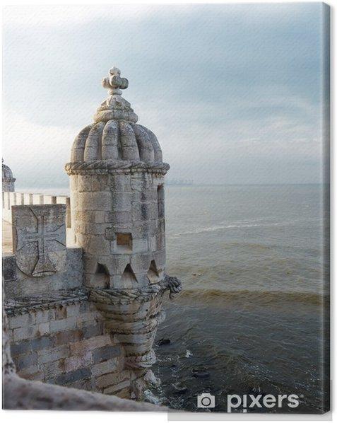Obraz na płótnie Szczegół Torre de Belém - Zabytki