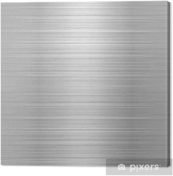 Obraz na płótnie Szczotkowanego metalu lub płyty aluminiowej - Style
