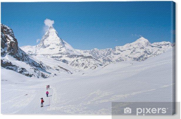 Obraz na płótnie Szczyt Matterhorn, Szwajcaria - Wakacje