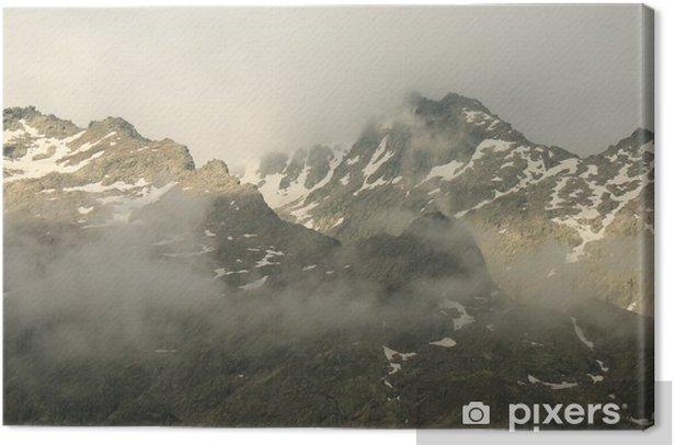 Obraz na płótnie Szczyty Sierra de Gredos - Góry
